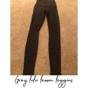 Grey lulu lemon leggings